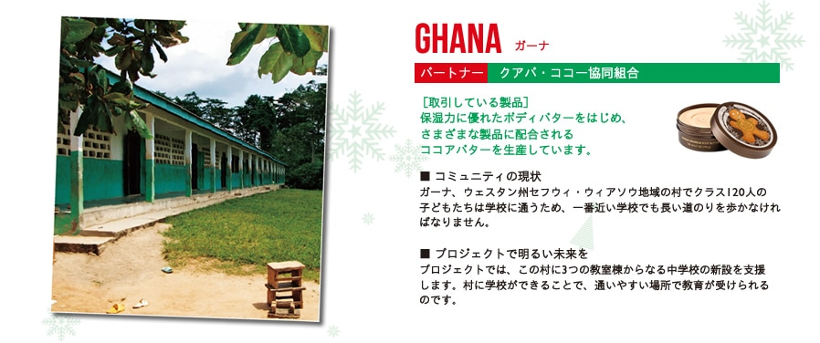 GHANA(ガーナ)パートナー:クアパ・ココー協同組合